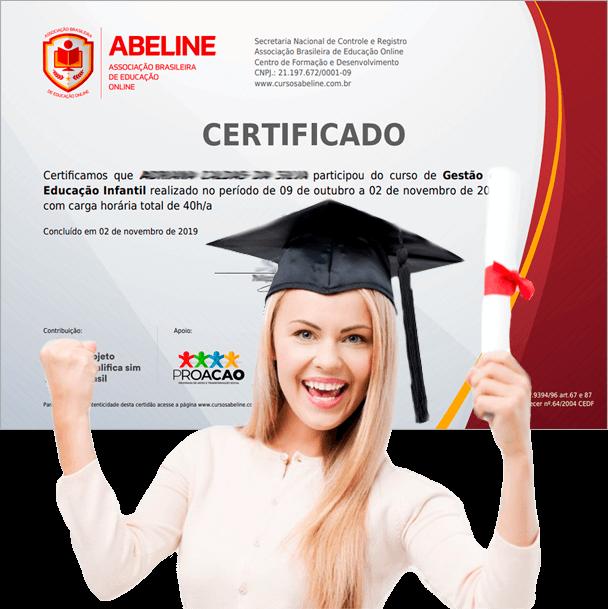 Modelo do nosso certificado