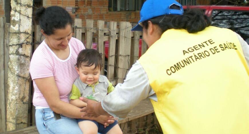 Curso grátis de Agente Comunitário de Saúde