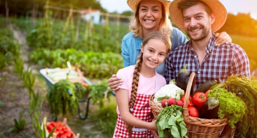 Curso grátis de Agricultura Familiar