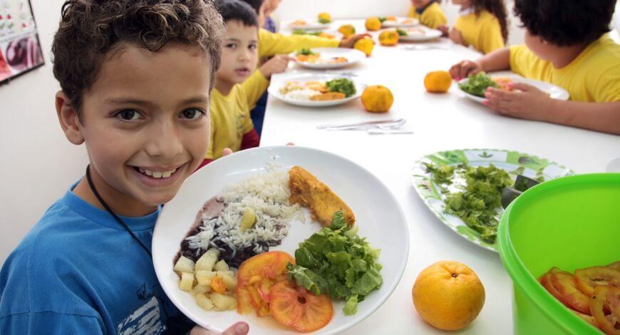 Curso grátis de Políticas de Alimentação Escolar