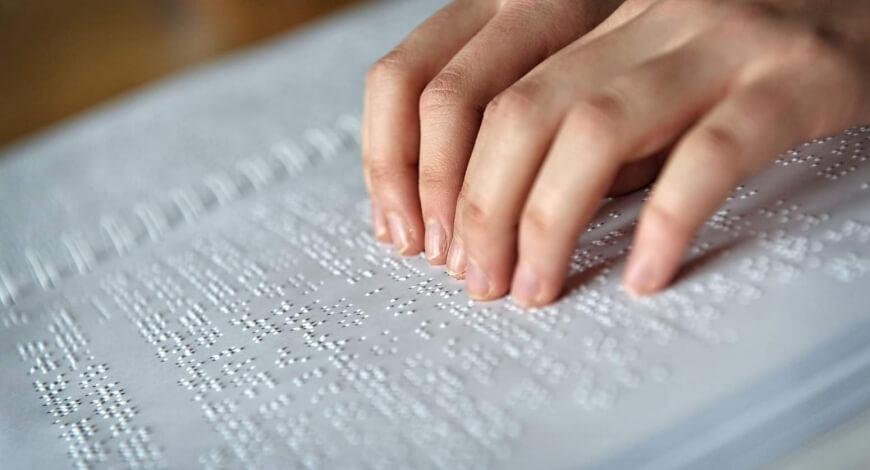 Curso grátis de Sistema Braille